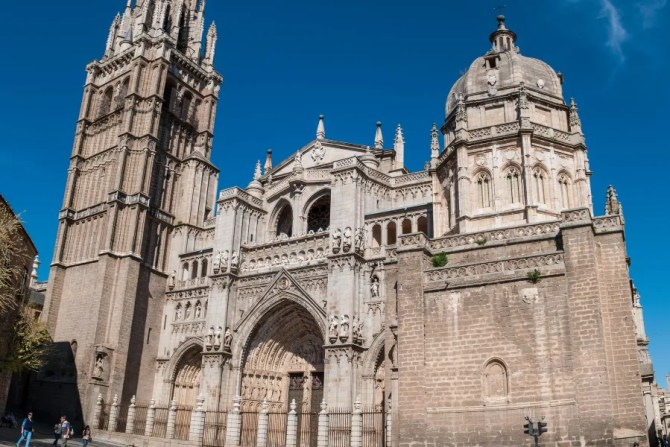 The Toledo Cathedral in Toledo, Spain.