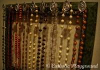Rosary Holder  Catholic Playground