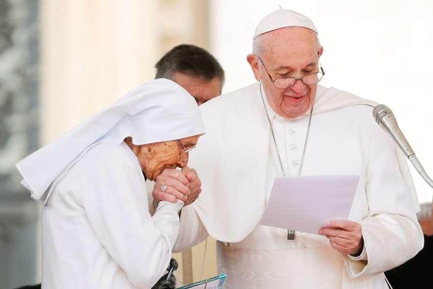 pope prefers to keep