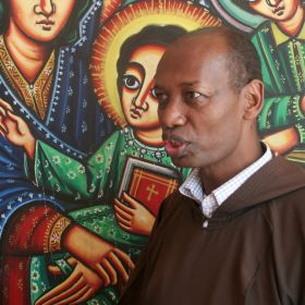 Father Hailegebriel Meleku, deputy secretary general of the Ethiopian Catholic Secretariat, said the country now is better poised to address its humanitarian problems, in part because church bodies have been mobilized during recent crises. Father Meleku is pictured in a November 2011 photo.