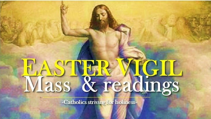 EASTER VIGIL CELEBRATION