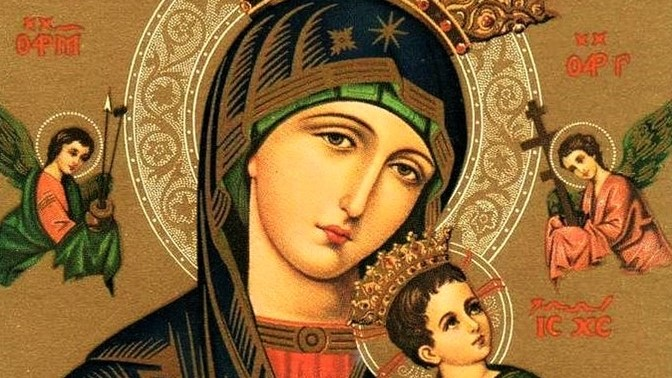 A Holy Week prayer to Our Mother of Perpetual Help.
