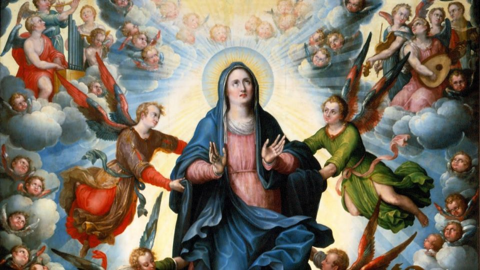 POPE FRANCIS ON THE ASSUMPTION OF OUR LADY