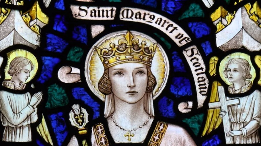 Nov. 16: ST. MARGARET OF SCOTLAND. The sanctity of marriage and the family.