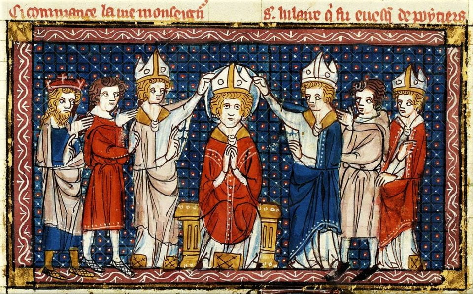 Jan. 13: ST. HILARY OF POITIERS. Pope Benedict XVI on St. Hilary