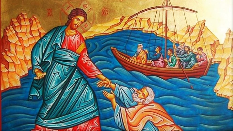 POPE FRANCIS' REFLECTION ON THE 19TH SUNDAY IN ORDINARY TIME YEAR A. JESUS WALKS ON THE WATER.