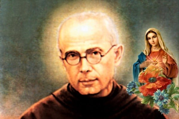August 14. ST. MAXIMILIAN KOLBE, MARTYR. Short bio and a letter.
