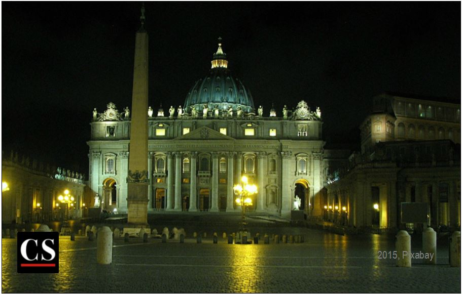 saint peters basilica, rome, papacy, pope