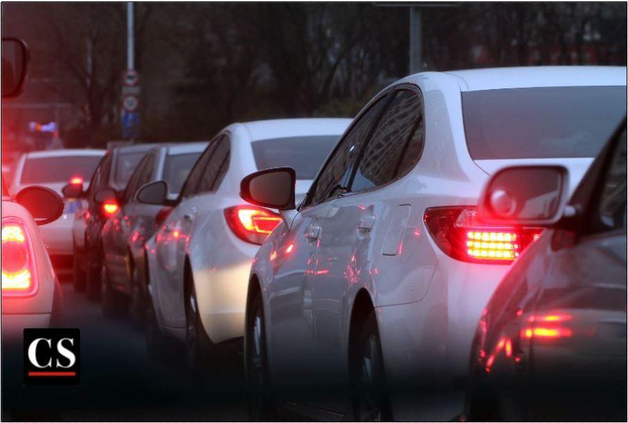 neighbors, traffic jam, cars
