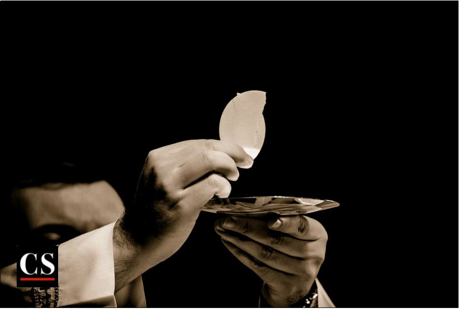 eucharist, jesus, communion, host