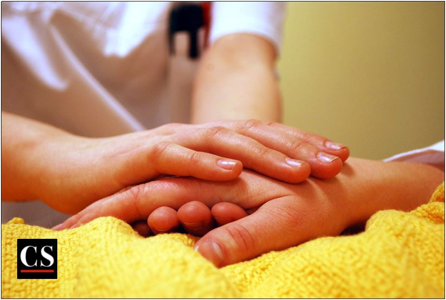 comfort, nurse, illness,