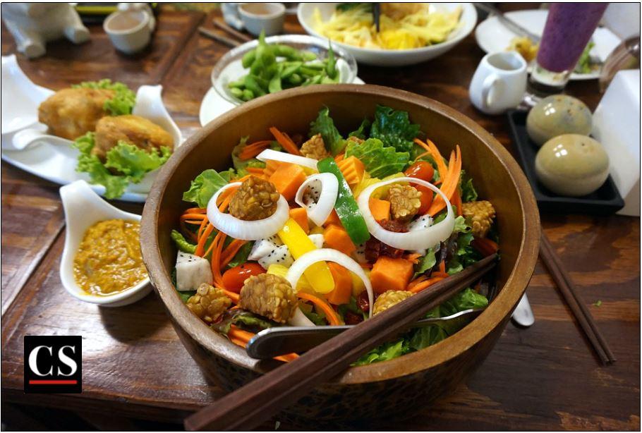 vegetarian, food, vegetables, meal