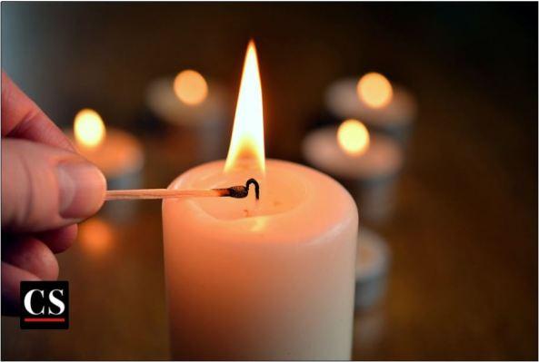 candle-lighting, flame