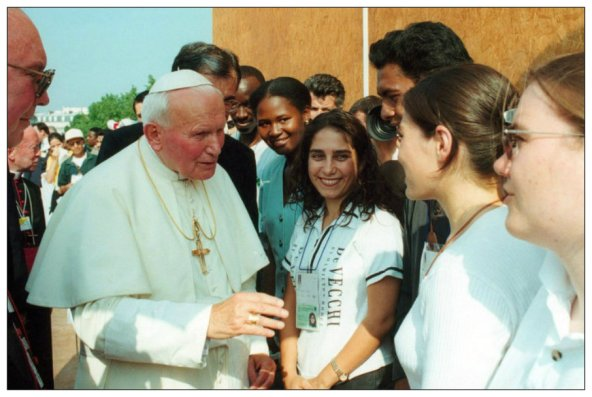 pope, john paul ii, kids, youth
