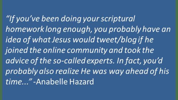 Anabelle Hazard - Tweet