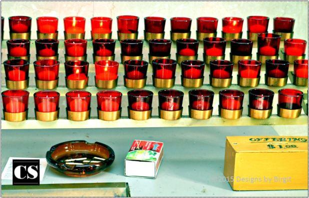 Birgit - candles