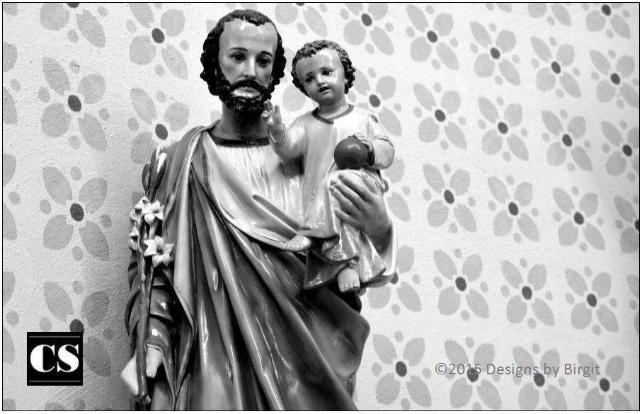 saint joseph, jesus, infant jesus, father, parent