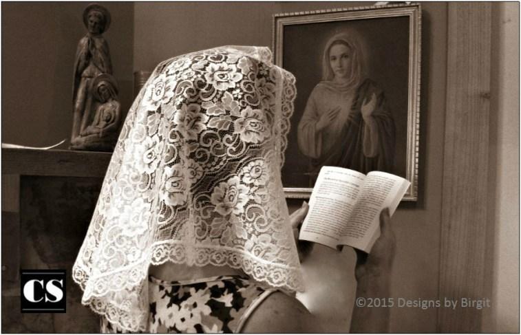Image result for catholic veil latin mass