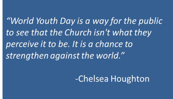 Chelsea Houghton - WYD