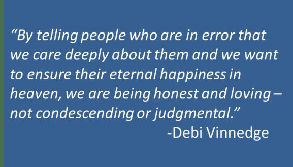 Debi Vinnedge - Judgment