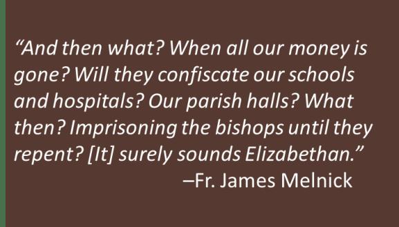 Fr. James Melnick - Elizabethan