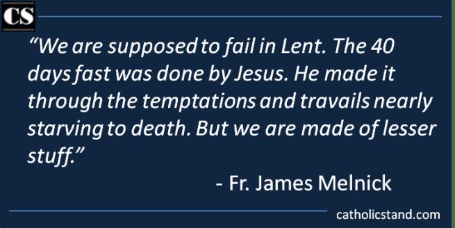 Fr. James Melnick - LentenFast