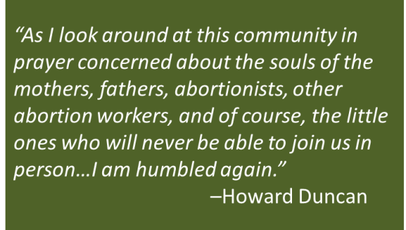 Howard Duncan - Abortion and Life