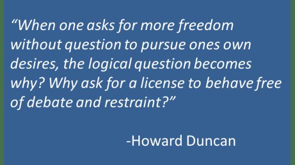 Howard Duncan - Autonomy