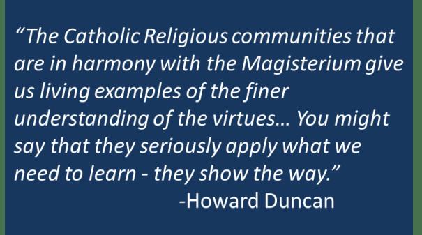 Howard Duncan - Religious Community