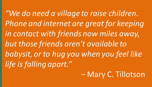Mary C. Tillotson - Village