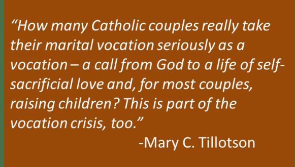 Mary C. Tillotson - Vocation