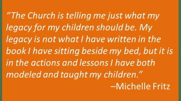 Michelle Fritz - Legacy