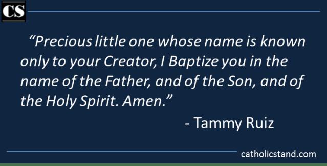 Tammy Ruiz - Baptism