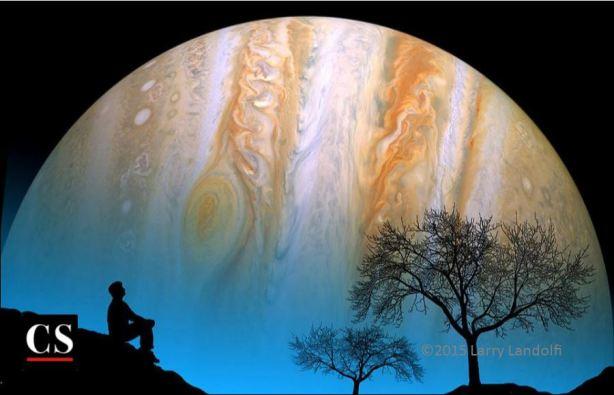 jupiter, wonder, universe, ponder, meditate, mediation