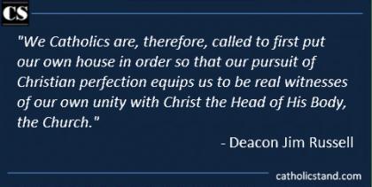 Deacon Jim Russell Pope Francis ecumenism