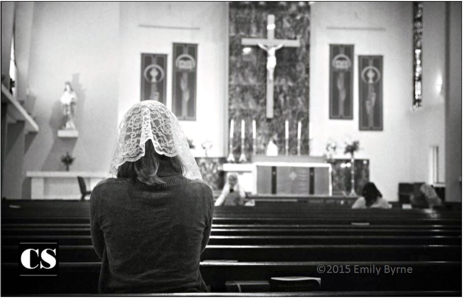 veil, mass, tradition