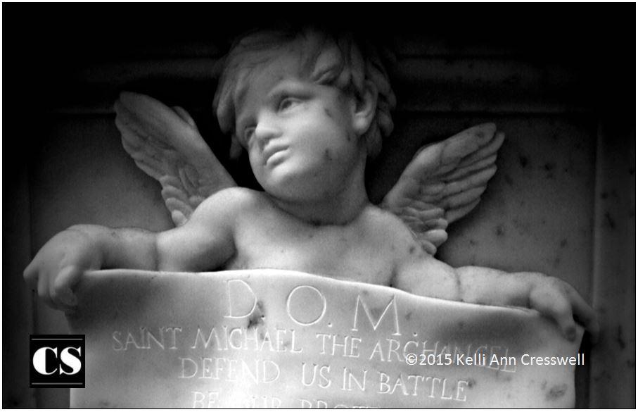 saint michael, angel, defend, battle
