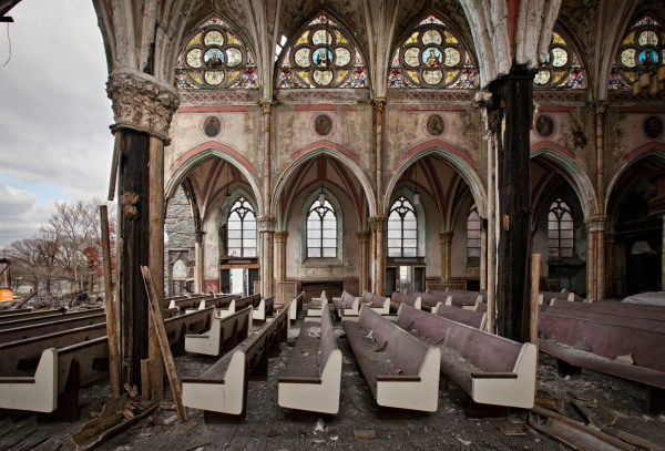 Captures Final Stages Of Abandoned Churches