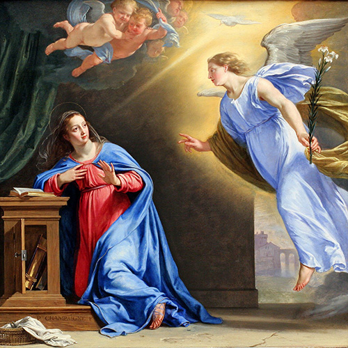 solemnity of annunciation of