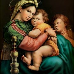 Madonna Of The Chair Reupholstery Cost Italian Renaissance Period