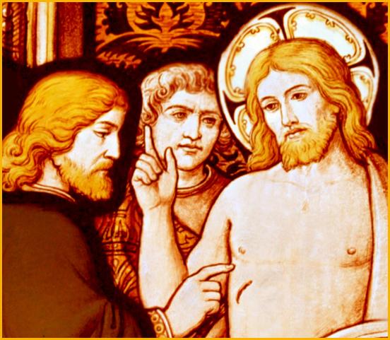 ผลการค้นหารูปภาพสำหรับ st thomas the apostle and jesus
