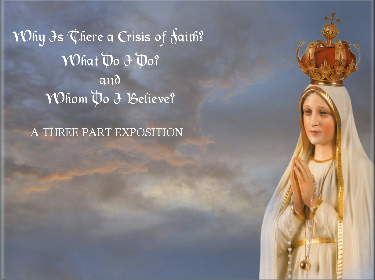 Catholic Quote Wallpaper Why Is There A Crisis Of Faith
