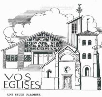 Vie de la paroisse Notre-Dame de la Merci depuis 1960