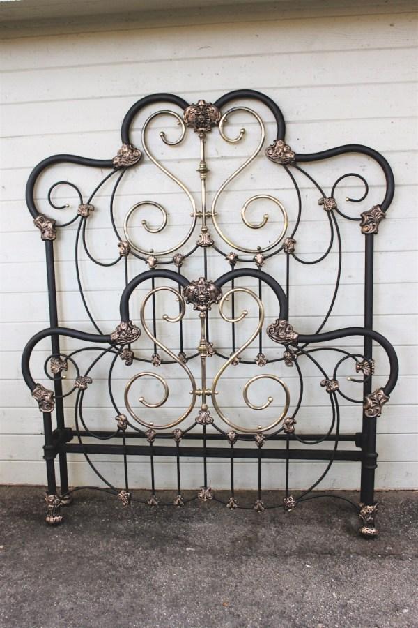Antique Iron Bed