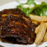 Pork Ribs with Blood Plum Sauce from Cath's Cookery Creations! | www.cathscookerycreations.com