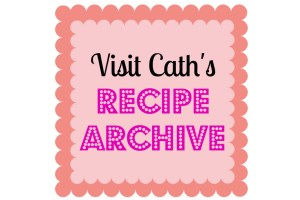 Recipe Archive in WordPress | www.cathscookerycreations.com