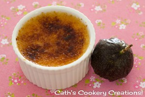Passionfruit Créme Brûlée from Cath's Cookery Creations! | www.cathscookerycreations.com