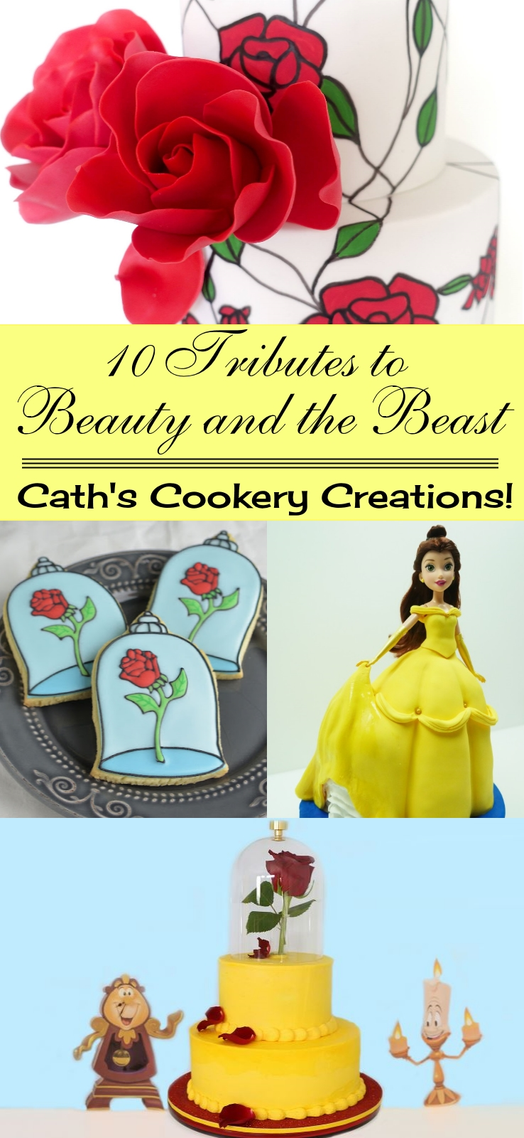 10 Tributes to Beauty and the Beast | www.cathscookerycreations.com