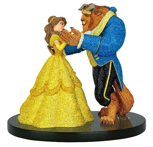 Swarovski's Limited Edition Figurine - 10 Tributes to Beauty and the Beast | www.cathscookerycreations.com