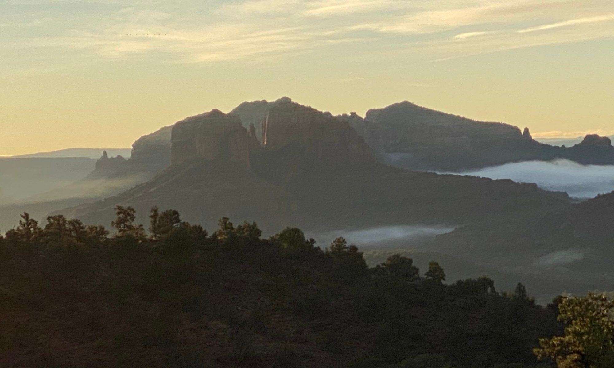 Sedona before Sunrise